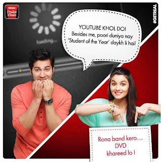 Varun & Alia Bhatt for Nestle's Fruita Vitals Print ads