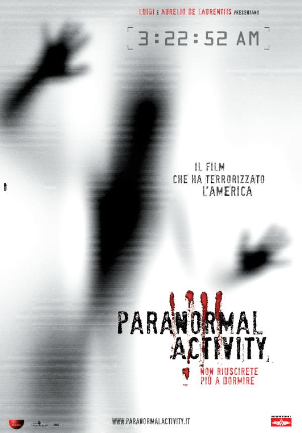 paranormal activity, poster, locandina