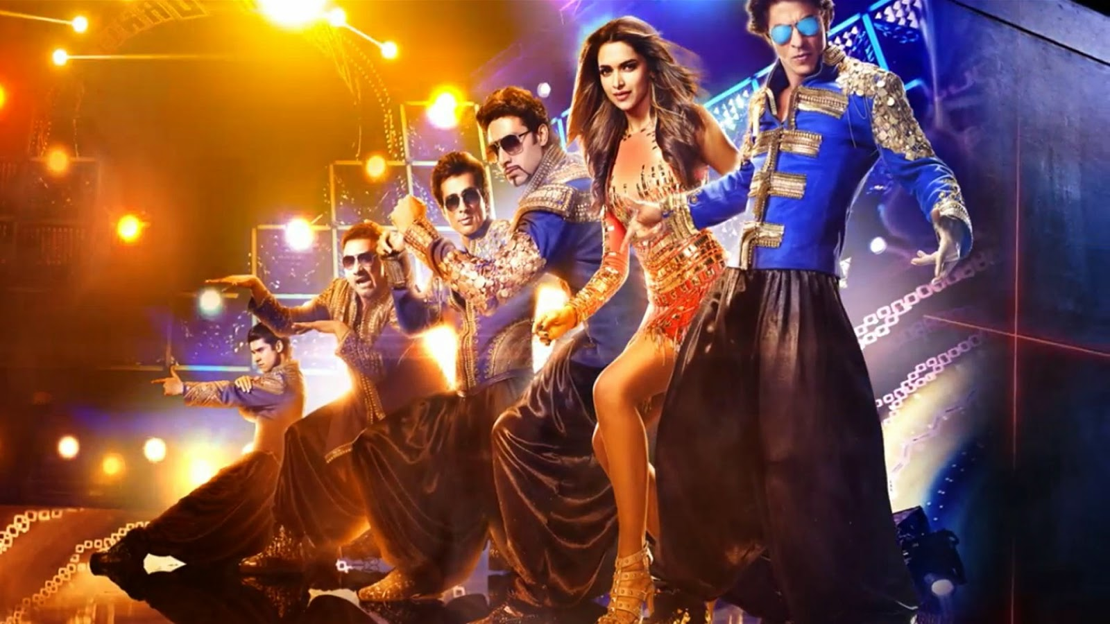 Movie happy new year awesome sexy poster 2014 (Actor and Actress Hd Wallpaper)