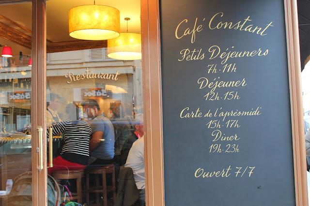 Café Constant, Paris