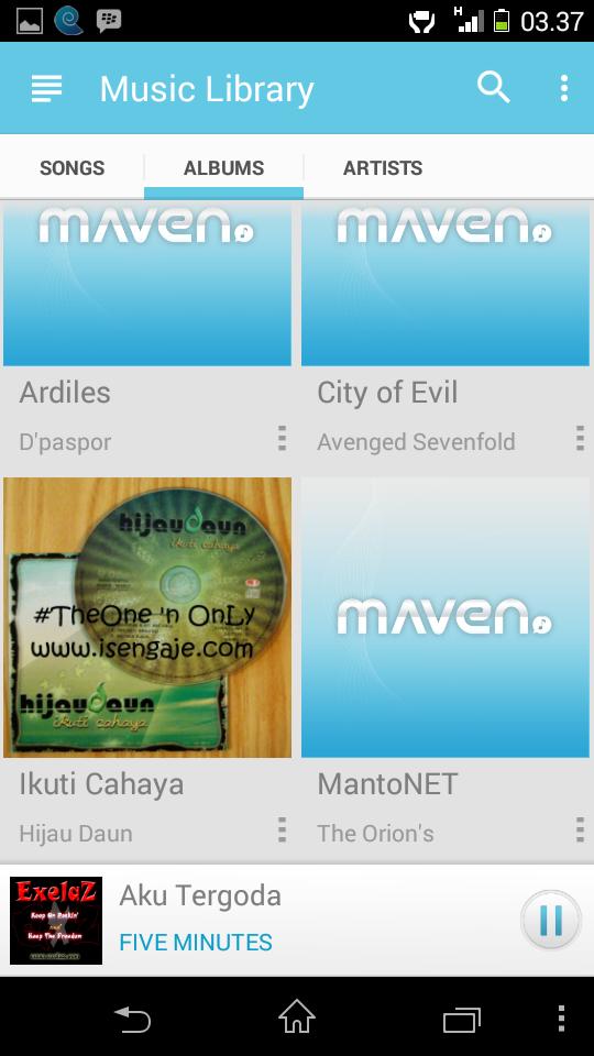 Maven Music Player Pro Terbaru