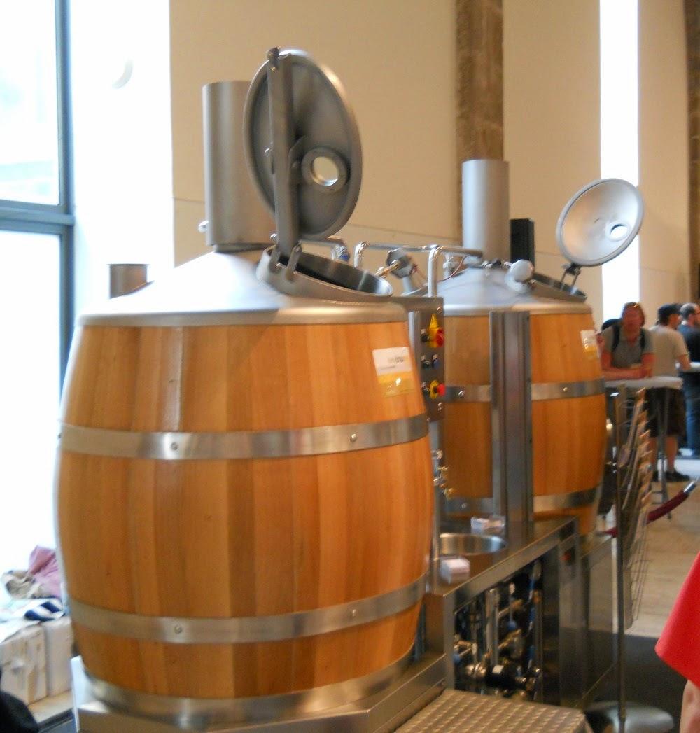 máquina para hacer cerveza artesanal