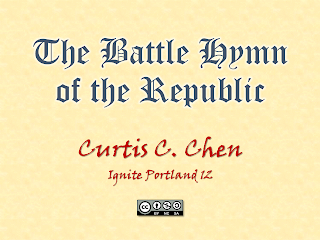 The Battle Hymn of the Republic - Curtis C. Chen