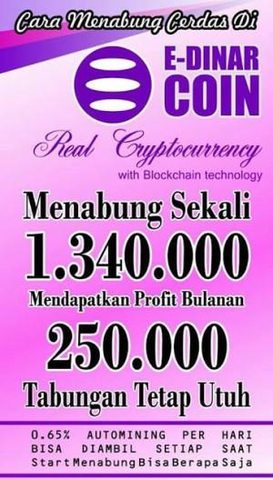 E-dinar Coin Indonesia