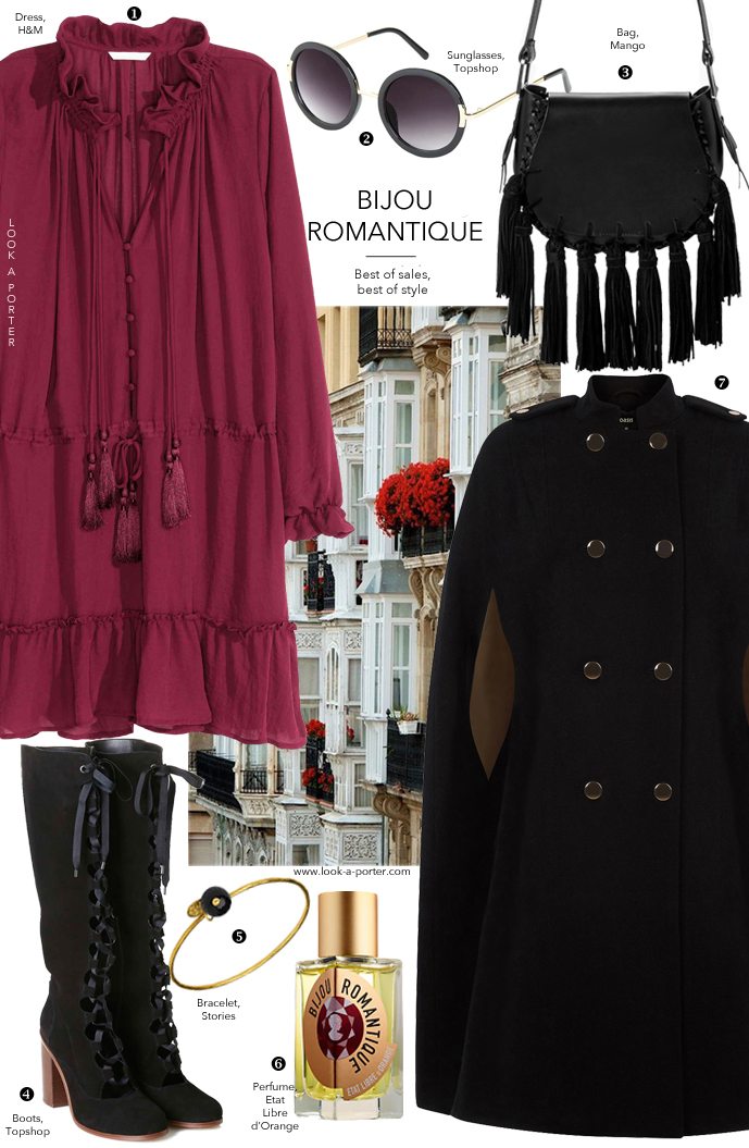 How to create Chloe-inspired, Parisian & bohemian outfit on a budget via www.look-a-porter.com style & fashion blog