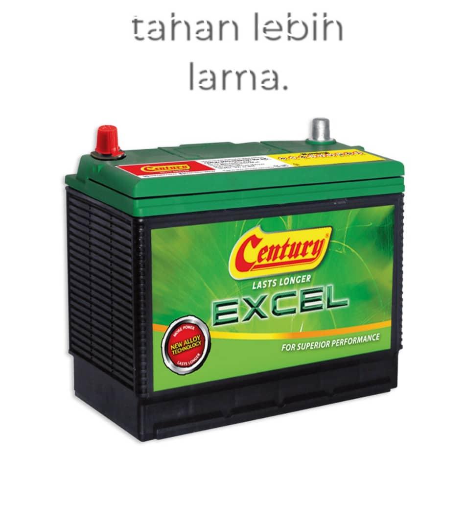 century excel 55b24l Rm260