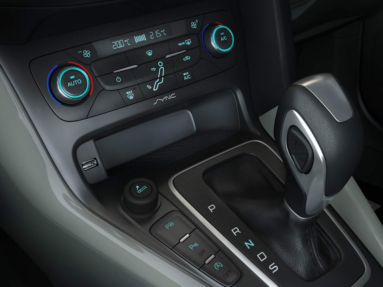 Novo Ford Focus 2016- transmissão automática Powershift