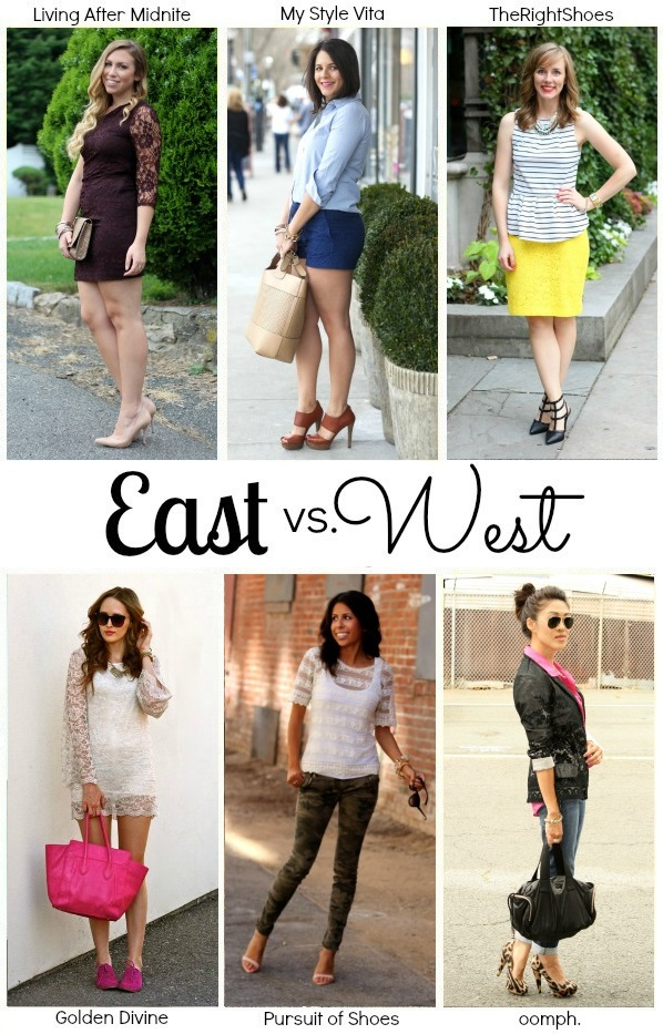 How To Style Lace-Summer Style-East vs. West Challenge
