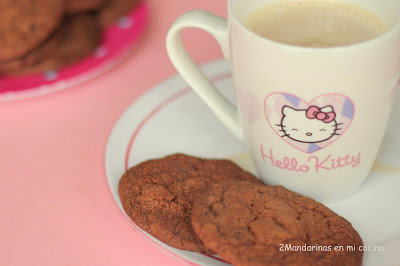 Galletas doble chocolate con pasas