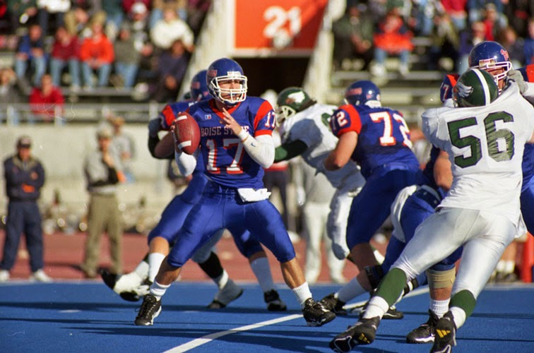 Blue Football Through And Has Done An All Decade Team For The 70s 80s Time Now 90s Boise State