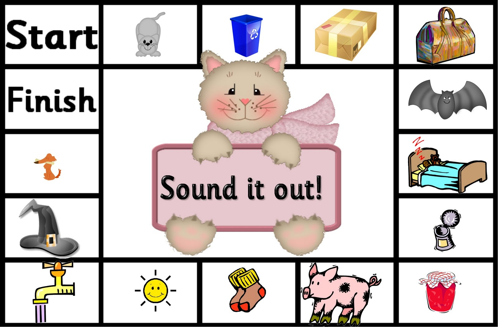 debbie39s resource cupboard letters and sounds sound it With sounding out letters games