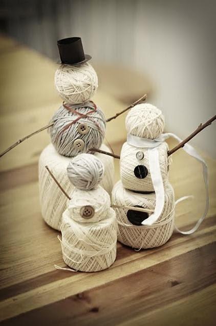 Bonecos de neve Natal