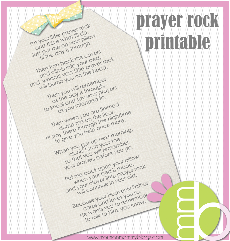 Little Prayer Rock Poem submited images.