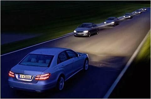 Cách lái xe trong đường hẹp