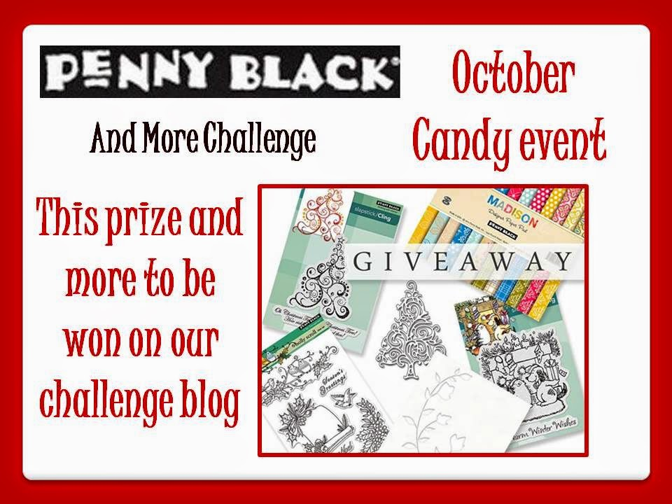 Penny Black And More Challenge giveaway