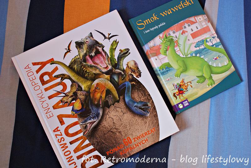 ksiązki o dinozaurach