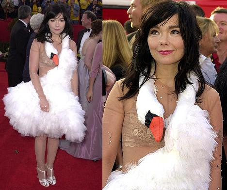 Björk Swan Dress Does