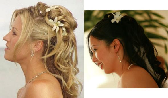 Fabulous Wedding Hairstyles Half-Up Headband 590 x 344 · 26 kB · jpeg
