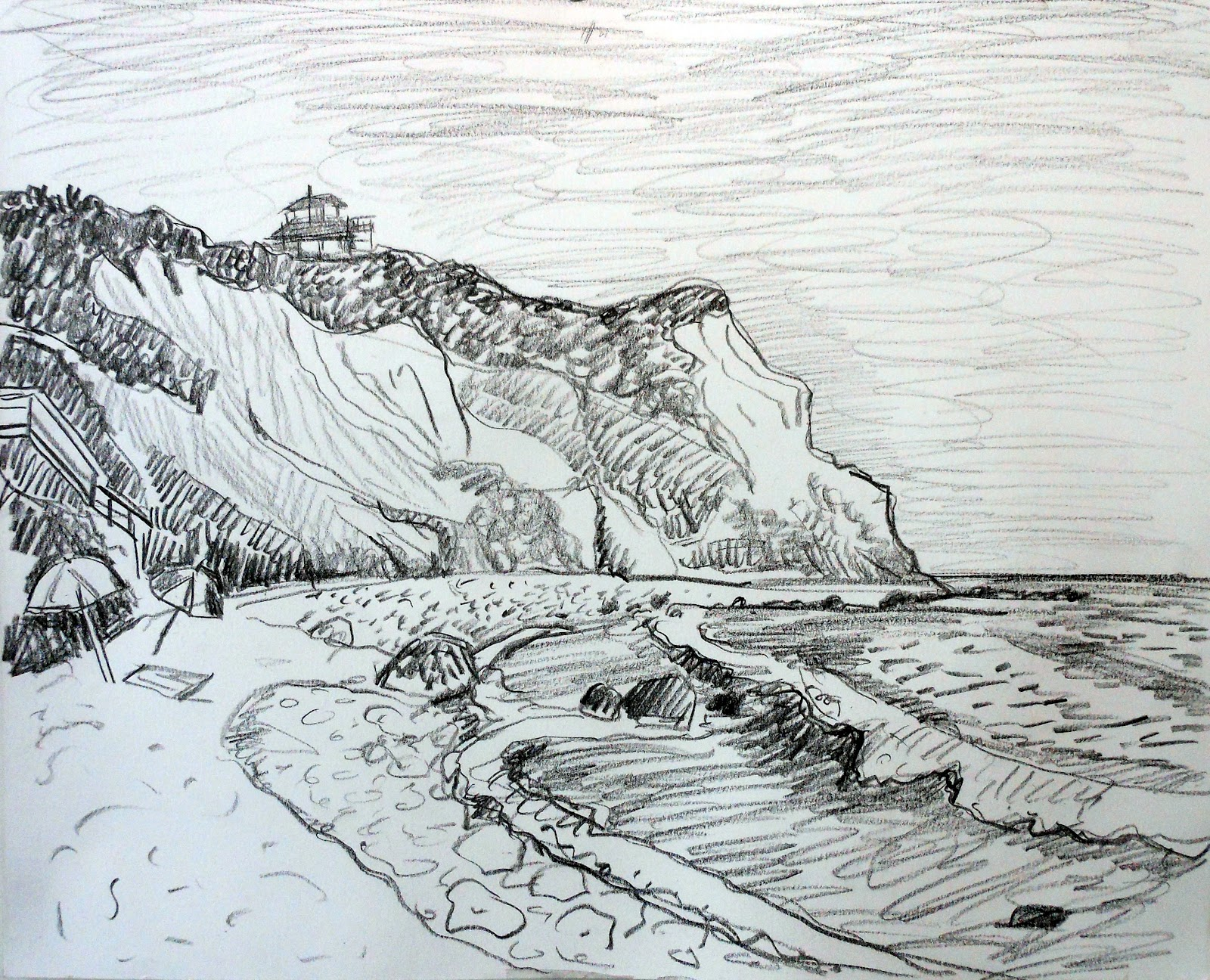Kate Knapp Artist Blog: Drawings from Snake Hole