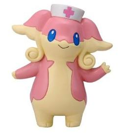 Pokemon Figure TomyMC Audino Tomy