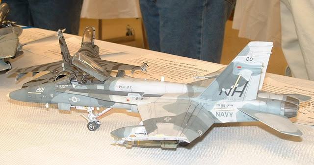 VFA-97 FA-18 model