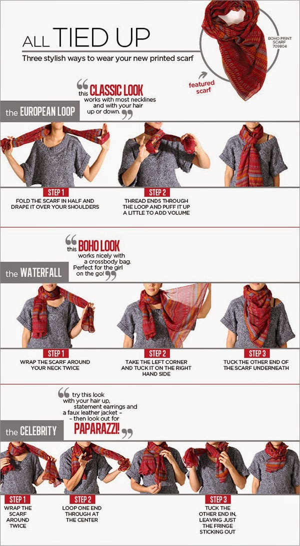 How To Wear Scarf