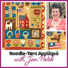 Needleturn Applique Class taught by Jan Patek for The Quilting Company
