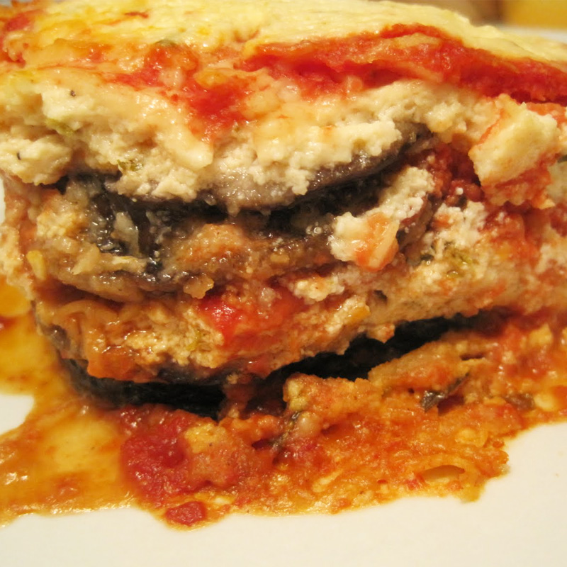 Cheese Eggplant Lasagna