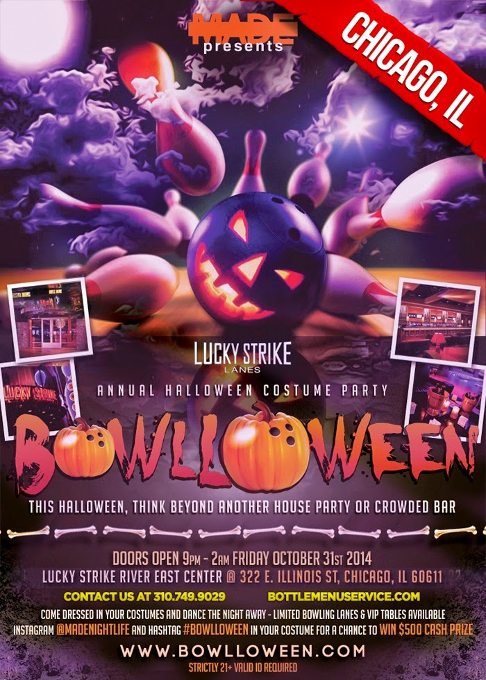 """Bowlloween 2014 Chicago Halloween"""