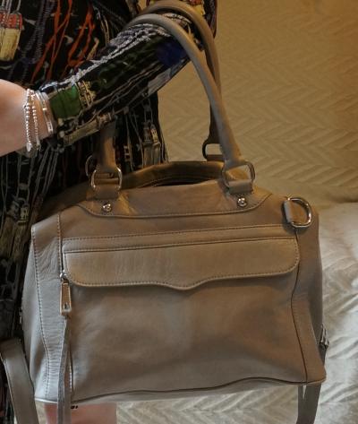 RM grey MAM bag