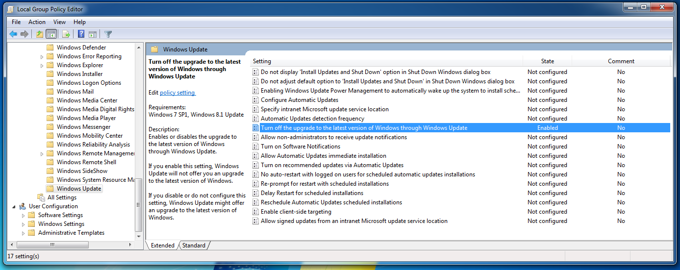 how to get to the local group policy editor