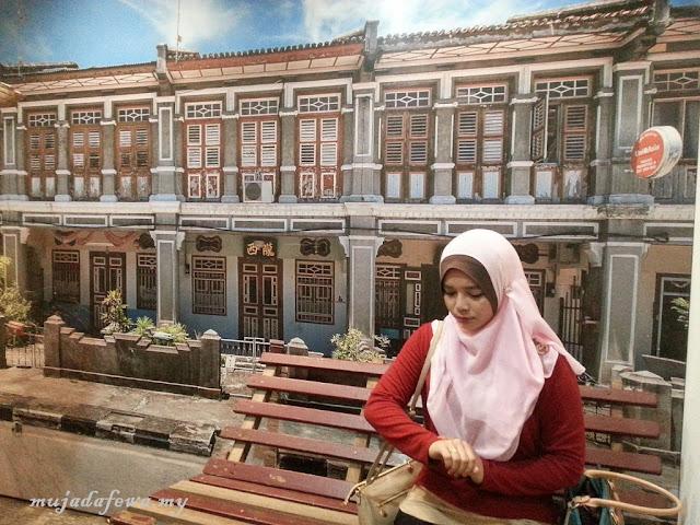 Tempat Menarik Pulau Pinang, Penang Time Tunnel, 3D mural art street, street art