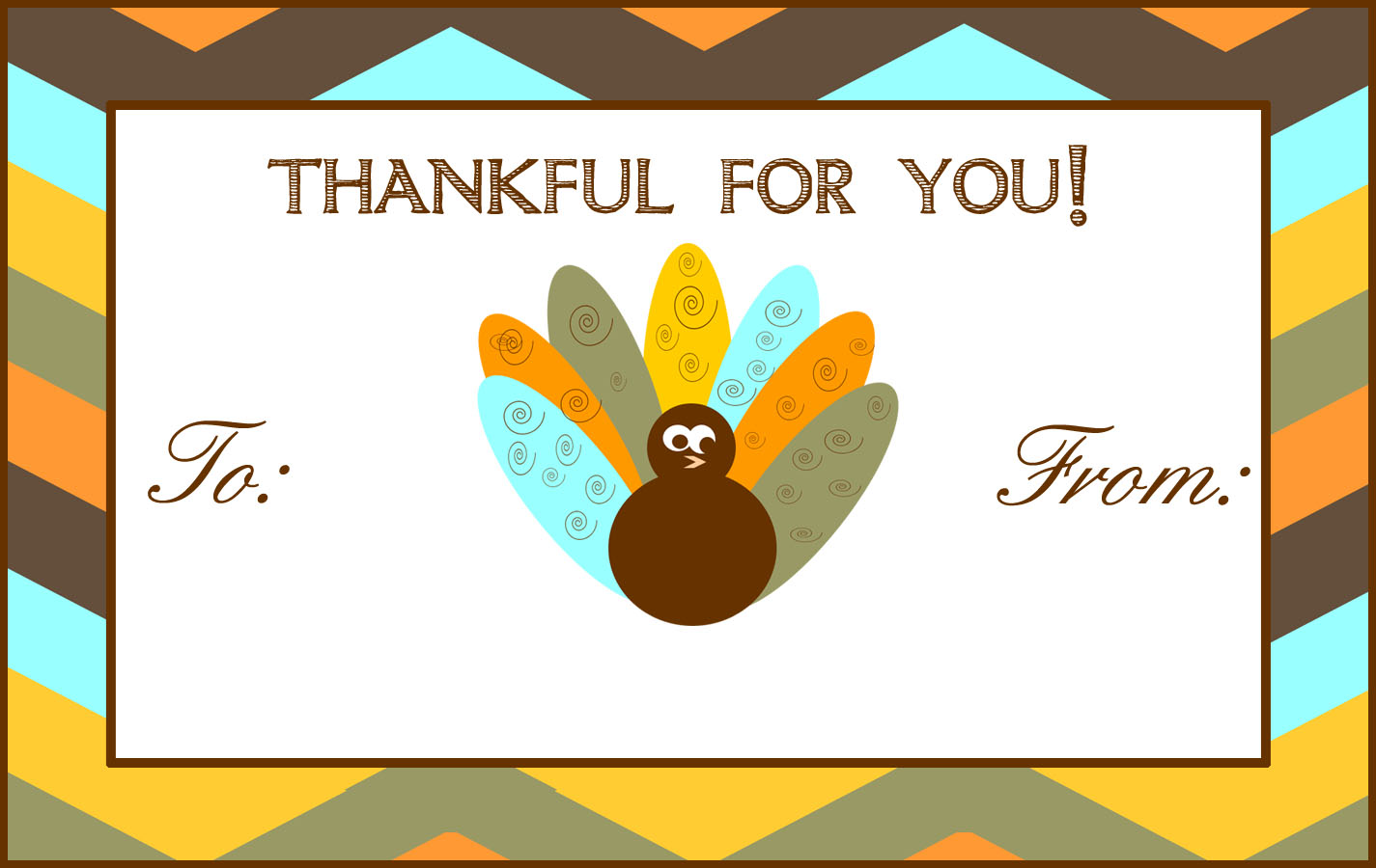 Thanksgiving Hostess Gifts & a FREE 'Turkey Day' Printable Gift Tag ...