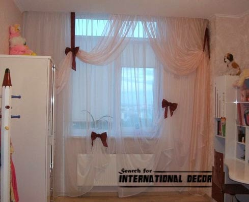stylish girls bedroom curtains