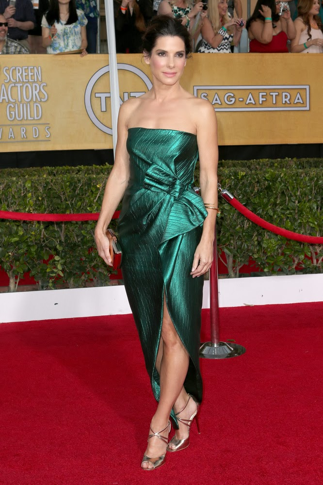 Sandra Bullock in Lanvin at the SAG awards