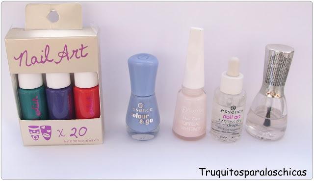 esmaltes de uñas low cost