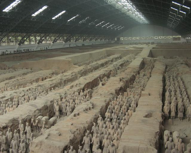 Qin Shi Huang's tomb - China