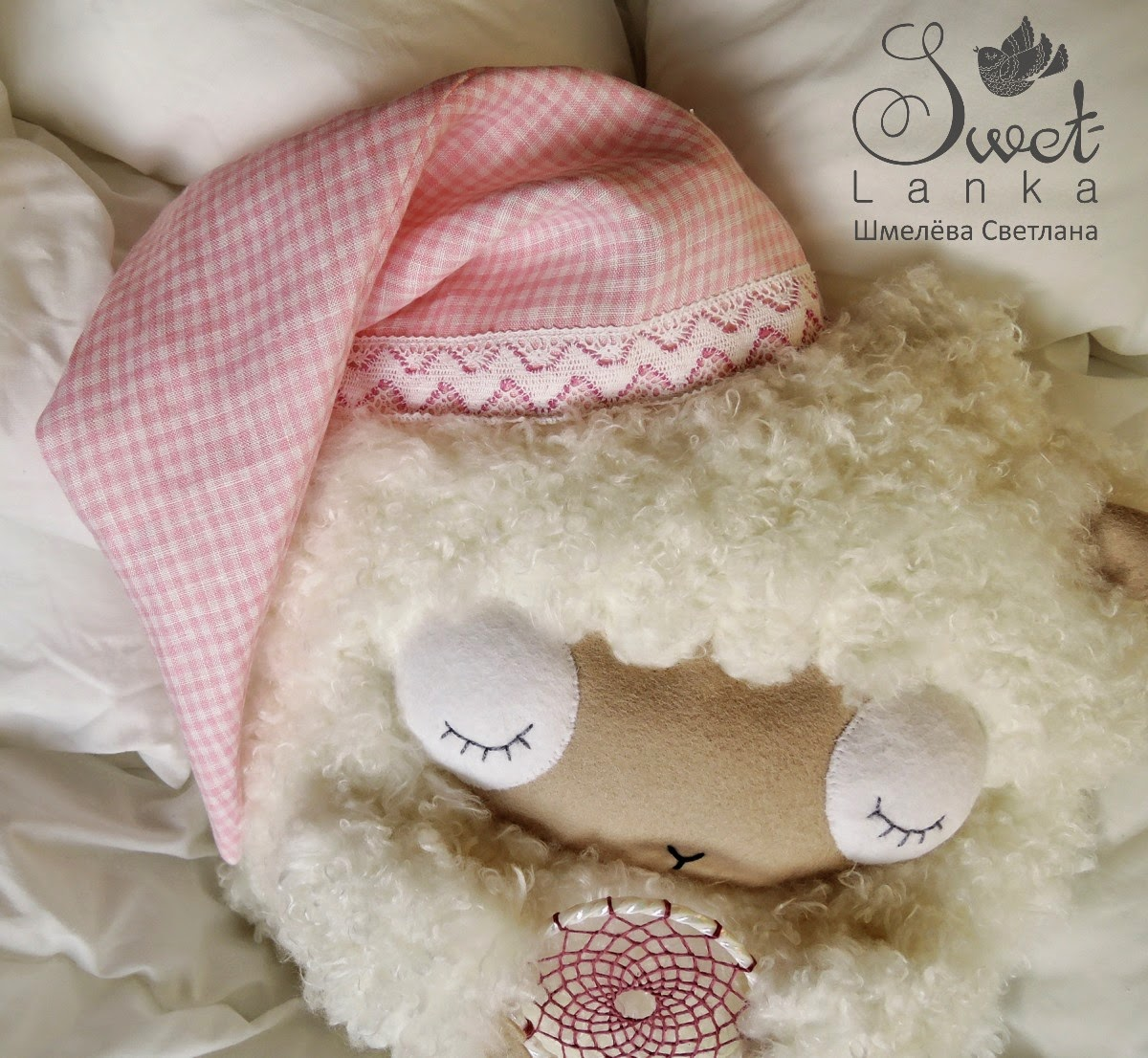 овца подушка
