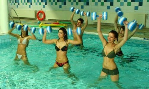 Practica aquaerobics