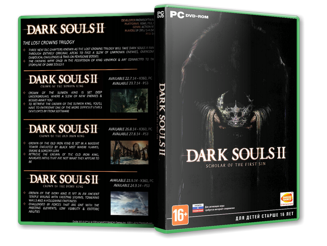 Capa Dark Souls II Scholar Of The First Sin PC