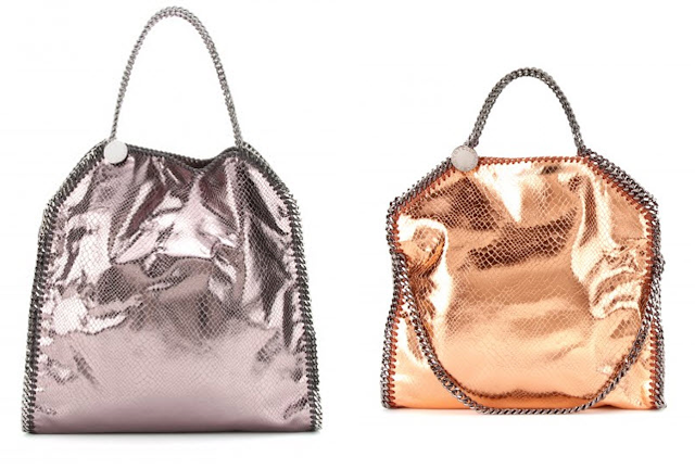Stella McCartney Metallic Chain Bag FW13/14