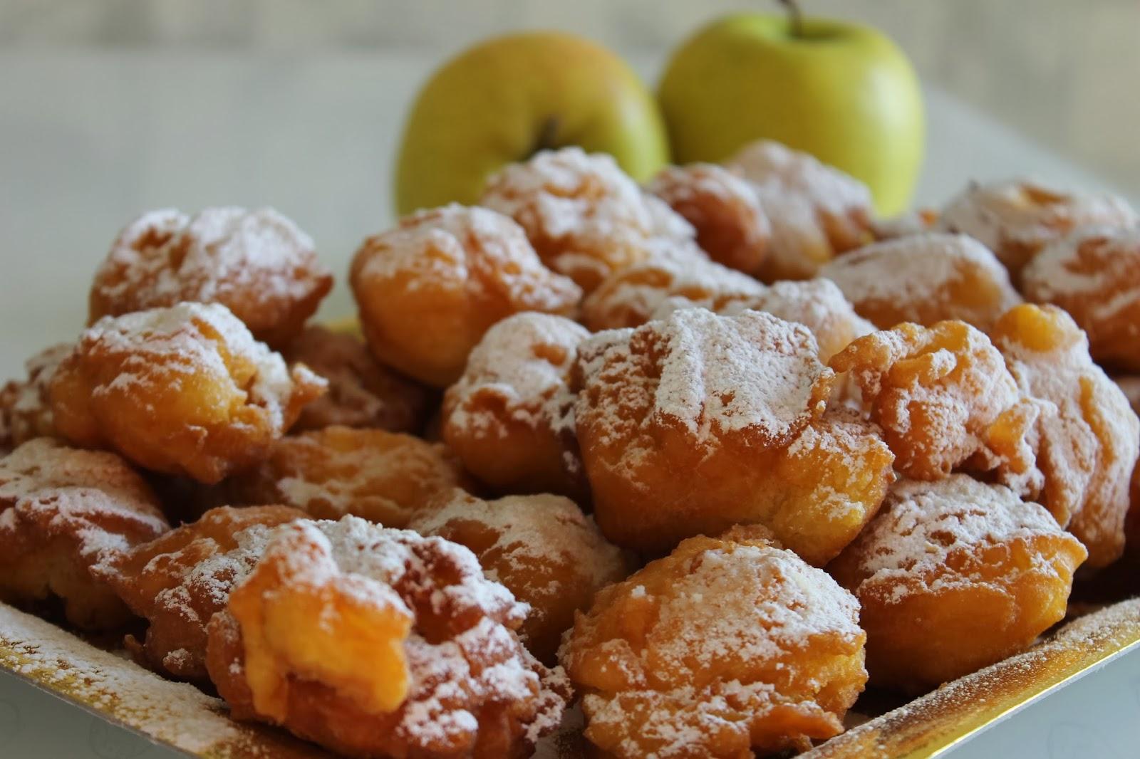 frittelle con le mele, la mia ricetta!