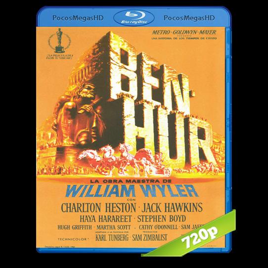 Ben-Hur(1959) BrRip 720p Inglés AC3+subs