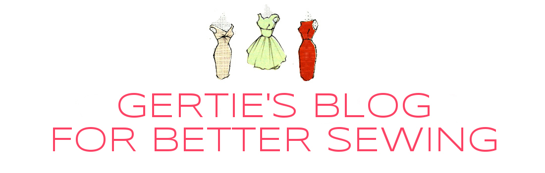 Gertie's New Blog for Better Sewing This site is all about tutorials, tips, inspiration, and lots of spirited discussion about sewing as it relates to fashion history, pop culture, body image, and gender.