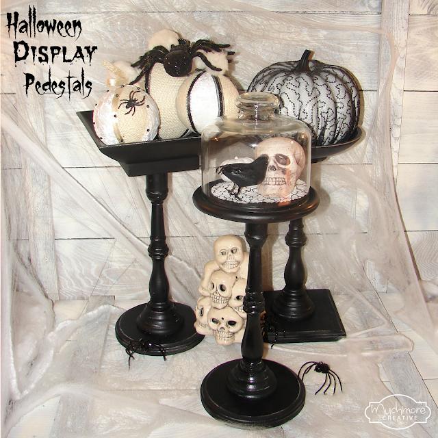 Muchmore Creative Halloween Display Pedestals