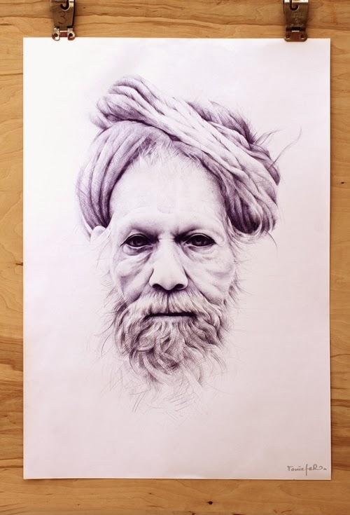 06-Toni-Efer-Biro-Ballpoint-Pen-Portrait-Drawings-www-designstack-co