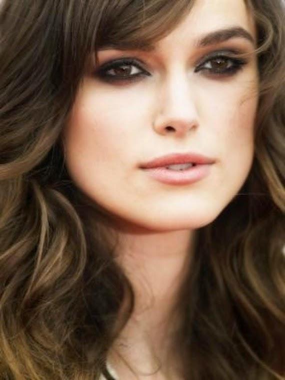 Keira knightley smokey eye makeup