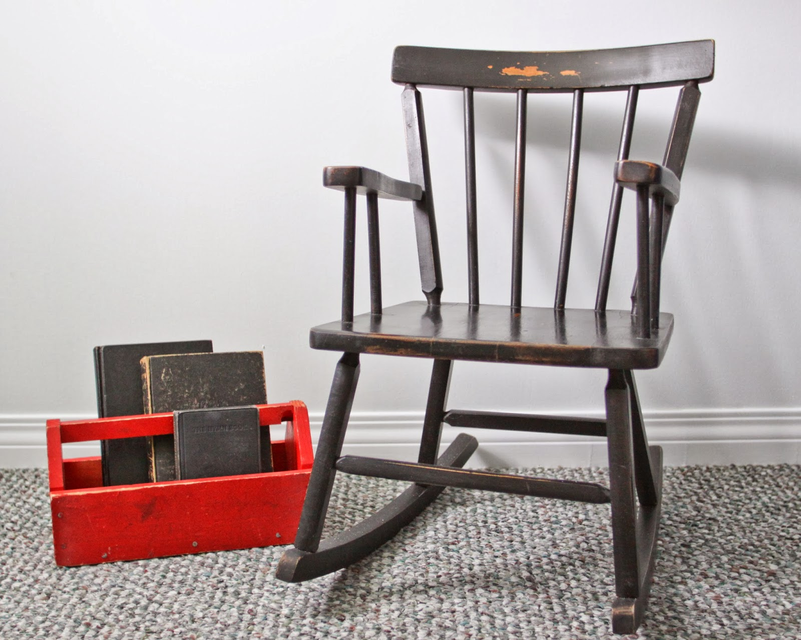 Sweet Tree Furniture Child S Black Rocking Chair