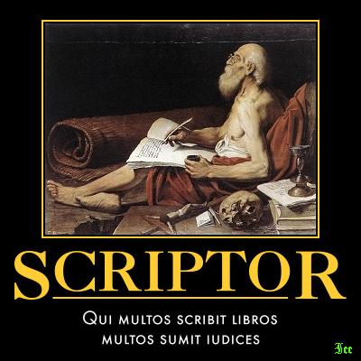 L. Spada, San Girolamo scrivente (1613 ca.)