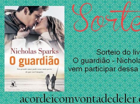 NOVO RESULTADO  - O guardião - Nicholas Sparks
